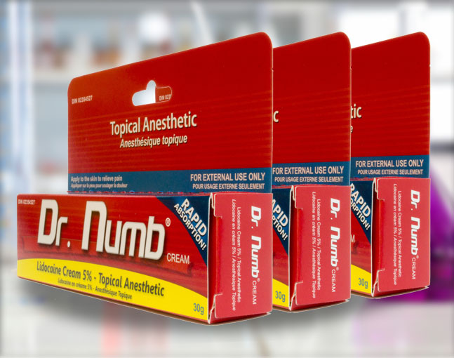 Best waxing numbing cream dr numb for Topical analgesic for tattoos